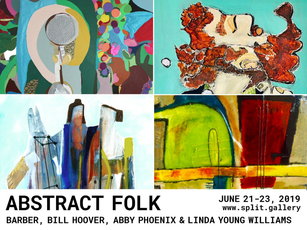 Abstract Folk at Split Gallery