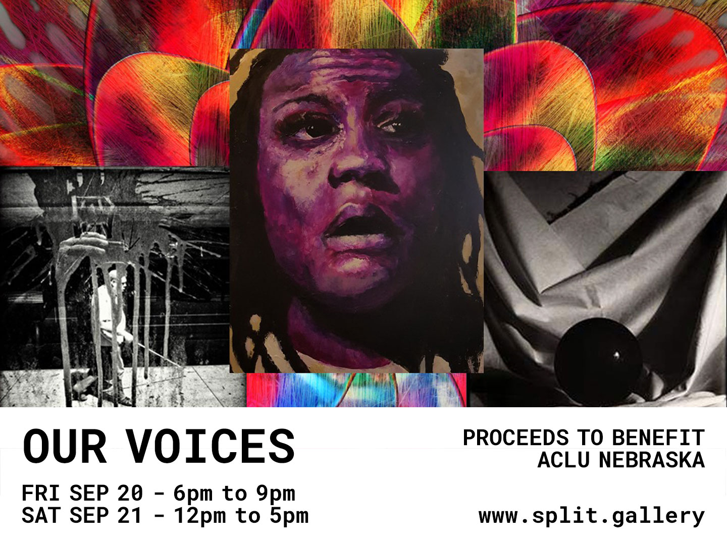 Our Voices at Split Gallery - Sept 20-21, 2019